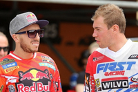 MXGP: Frossard in, Herlings off