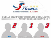 MX des Nations 2016 : Quelle Equipe de France ?