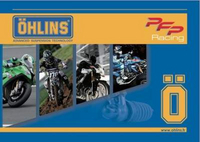 "Le catalogue Ohlins 2017 est disponible ""on line"""