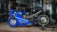 Yamaha Yard Built : XSR700 by Workhorse pour la course Sultans of Sprint