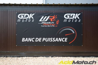 Reportage - Reprogrammation Woolich Racing chez GBK Motos à Gland