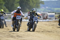 Newstock Festival à Payerne - L'Indian Scout Hooligan victorieuse en flat-track