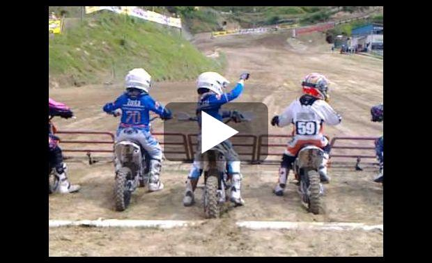 holeshot enfant motocross