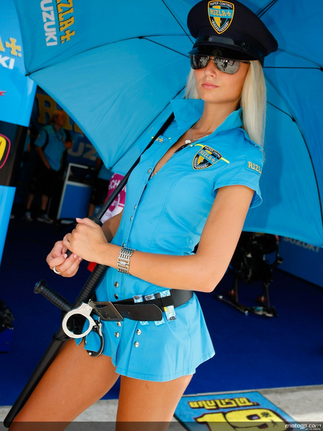Umbrella motogp San Marin 2011