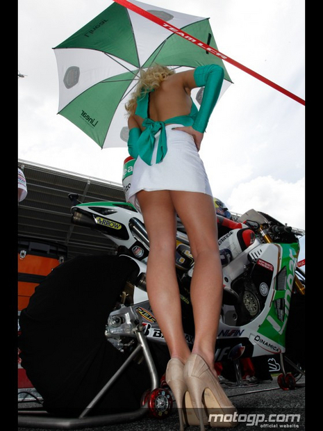 Umbrella du grand prix moto Estoril 2012