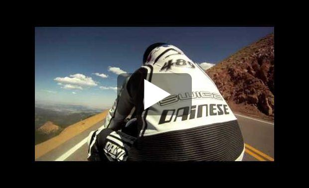 Ascension du Pikes Peak en moto électrique