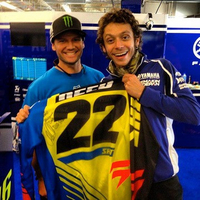 Austin : Chad Reed a offert son maillot à Valentino Rossi