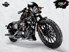 Café Sportster : Harley-Davidson 883 Iron S Special Edition