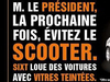 Le loueur Sixt épingle François Hollande